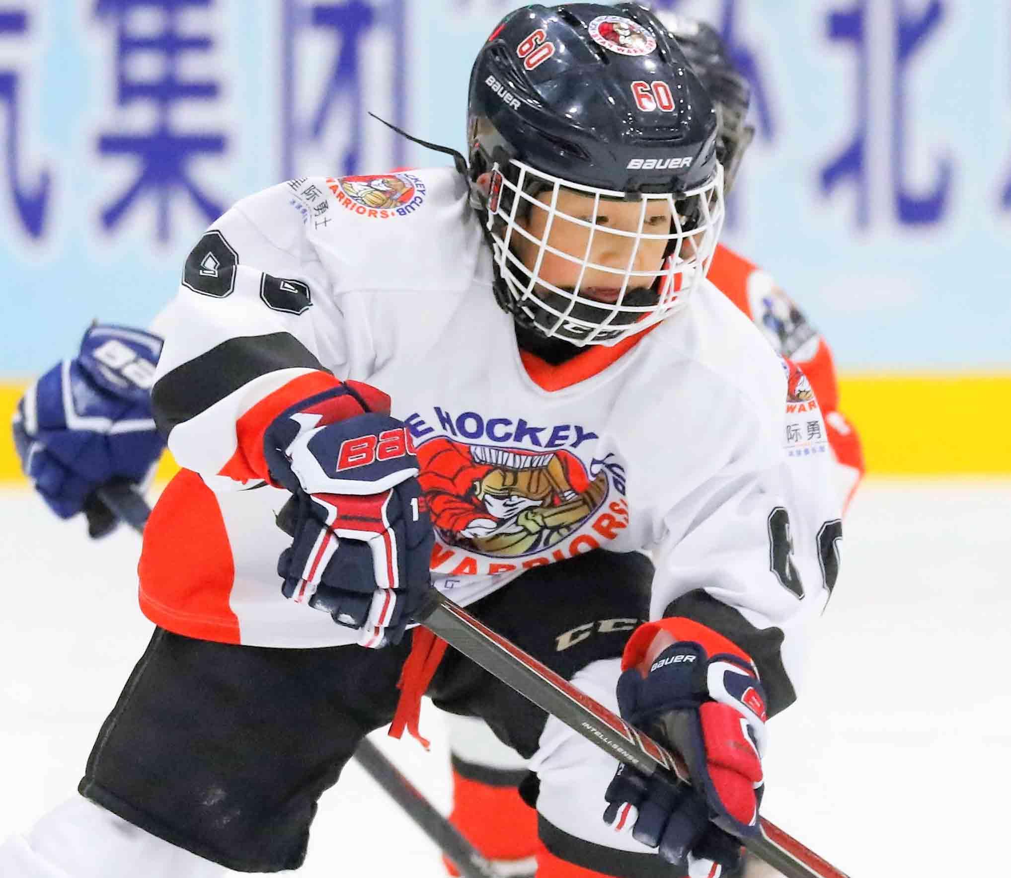 北京冰球运动火热 期待家门口为国争光