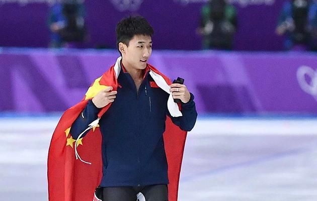 男子速滑500米中国再取突破 高亭宇夺铜牌