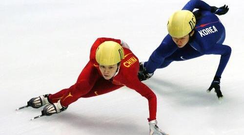 速度滑冰——大赛道的竞速